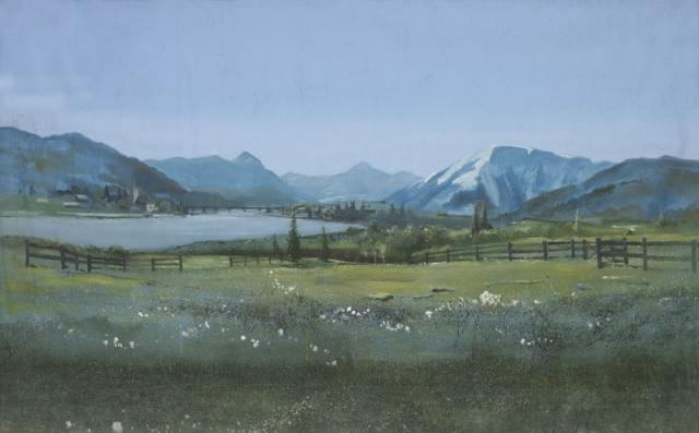 Backdrop 101 Alpine Scene 14'X8'