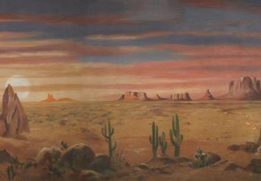 Backdrop 104 Arizona Desert Sunset/Sunrise 32'X15'