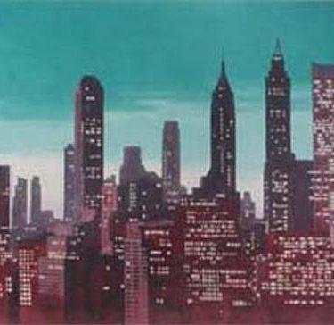 Backdrop 109 Skyscraper Skyline Can Be Backlit 30'X15'