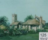 Backdrop 125 Country Thatched Cottage 15'X12'