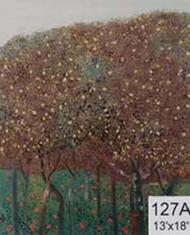 Backdrop 127A Blossom Fruit Trees 13'X18'