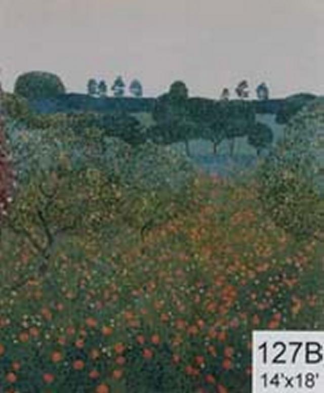 Backdrop 127B Blossom Fruit Trees 14'X18'