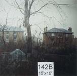 Backdrop 142B City Garden View 15'X15'