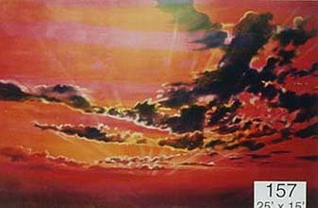 Backdrop 157 Sunrise Sunset Sky 25'X15'