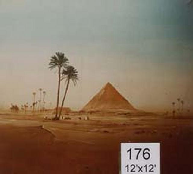 Backdrop 176 Pyramid 12'X12'