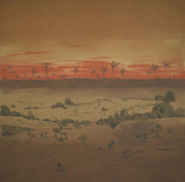 Backdrop 179 Tropical Desert Scene 10'X10'