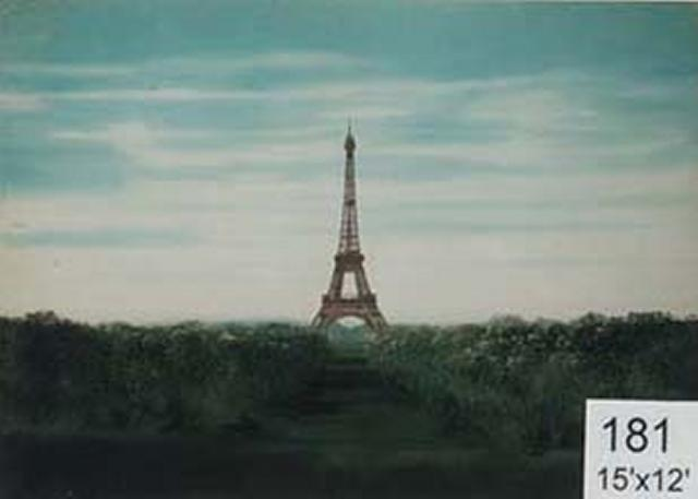 Backdrop 181 Eiffel Tower 15'X12'