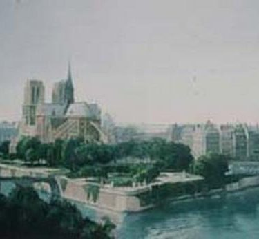 Backdrop 183 Notre Dame On The Seine 20'X12'