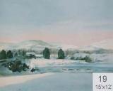Backdrop 19 Snow Landscape 15'X12'