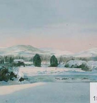Backdrop 19 Snow Landscape 15'X12'