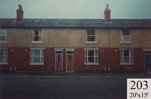 Backdrop 203 Terraced Houses 20'X15'