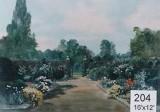Backdrop 204 Suburban Summer Garden & Flowers 16'X12'