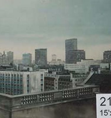Backdrop 219 High Level View London Tower Blocks 15'X12'