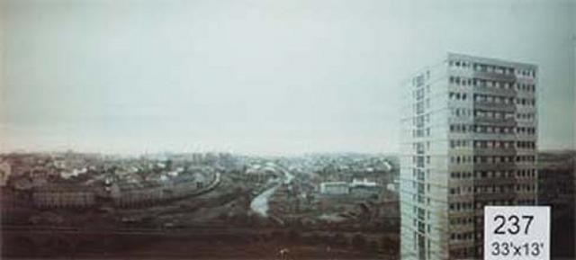 Backdrop 237 High Level View With Tower Block 33'X13'