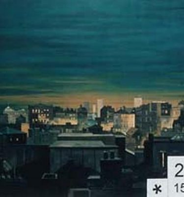 Backdrop 261 High Level Night City View 15'X12'