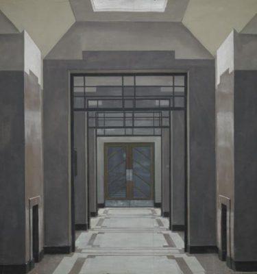 Backdrop 267 Art Deco Lift Lobby 14'X12'