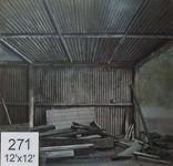 Backdrop 271 Shipyard Warehouse 12'X12'