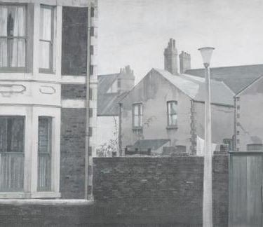 Backdrop 281 Terraced House Street Scene 20'X12'