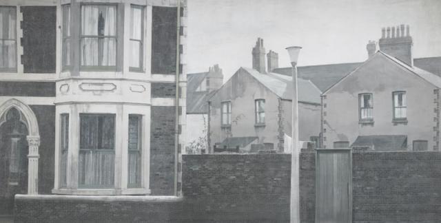 Backdrop 281 Terraced House Street Scene 20'X12'