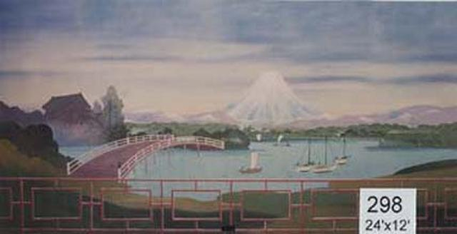 Backdrop 298 Japanese Mount Fuji 24'X12'