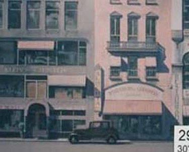Backdrop 299 Art Deco Shopfronts 1920 America 30'X15'