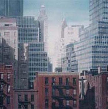 Backdrop 305 Manhattan Skyline (Above Ground Level) 25'X15'