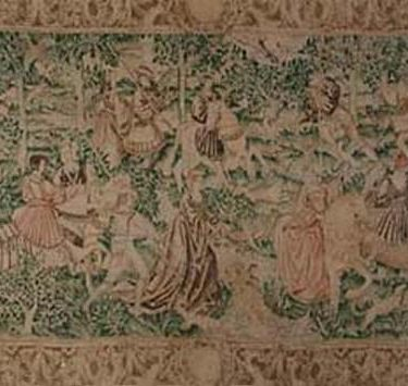 Backdrop 310 Medieval Tapestry On Hessian 18'X10'