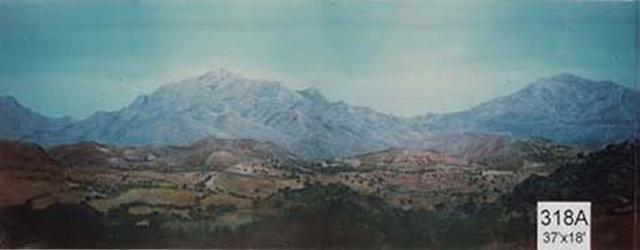 Backdrop 318A Mountain Landscape 37'X18'