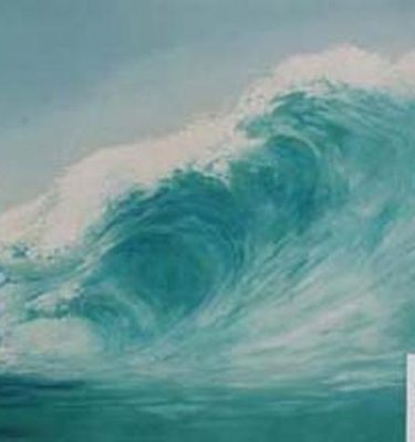 Backdrop 346 Surf Wave 18'X12'