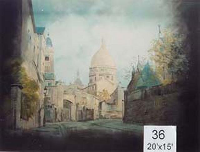 Backdrop 36 Sacre Coeur 20'X15'