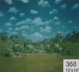 Backdrop 368 Spring Summer Garden 15' X 15'