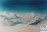 Backdrop 378 Snow Mountains 20'X12'