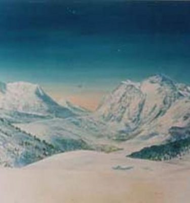 Backdrop 378 Snow Mountains 20'X12'