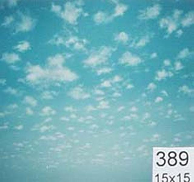Backdrop 389 Bright Sunny Sky With Clouds 15'X15'