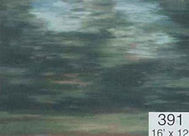 Backdrop 391 Green Grey 16'X12'