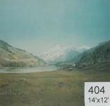 Backdrop 404 Lake &Amp; Mountain View 14'X12'