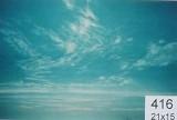 Backdrop 416 Bright Blue Sky With Wispy Clouds 21'X15'