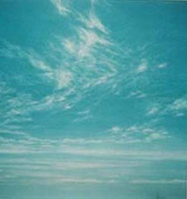 Backdrop 416 Bright Blue Sky With Wispy Clouds 21'X15'