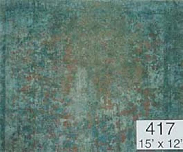 Backdrop 417 Beige Khaki Rust Blue 15'X12'