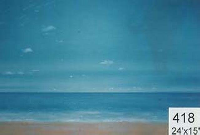 Backdrop 418 Sand, Sea & Sky 20'X15'