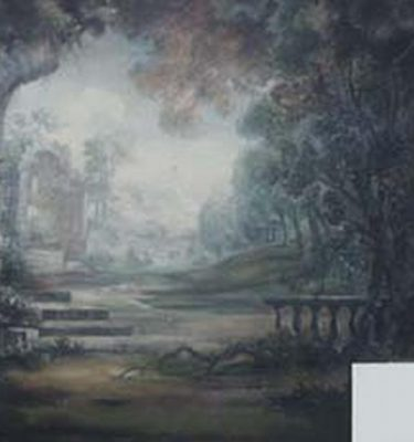 Backdrop 421 Gainsborough Style Landscape 15'X15'