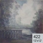 Backdrop 422 Gainsborough Style Landscape 12'X12'
