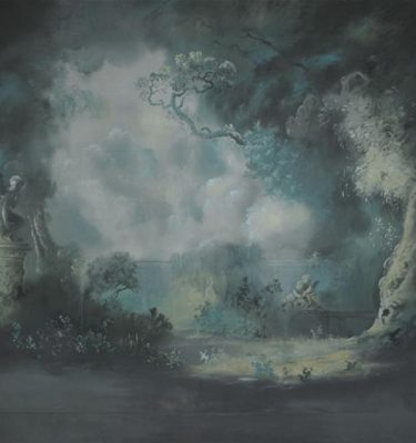 Backdrop 430 Moonlit Glade, 'Fragonard' Style. 15'X18'