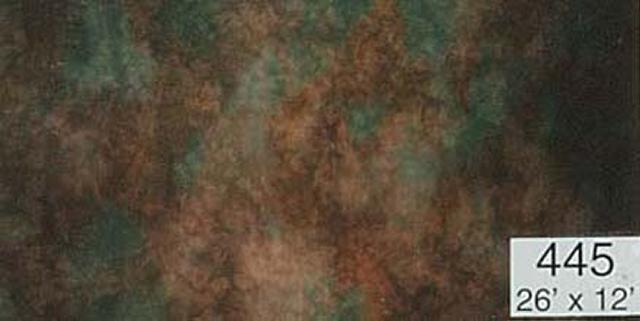 Backdrop 445 Brown Rust Green 26'X12'