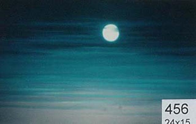 Backdrop 456 Night Sky With Full Moon 24'X15'