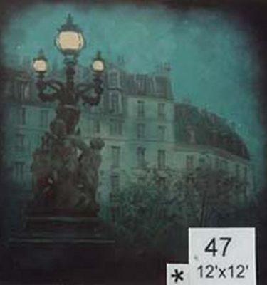 Backdrop 47 City Night Scene 12'X12'