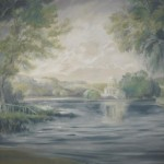 Backdrop 475 Gainsborough Style River Landscape 16'X24'