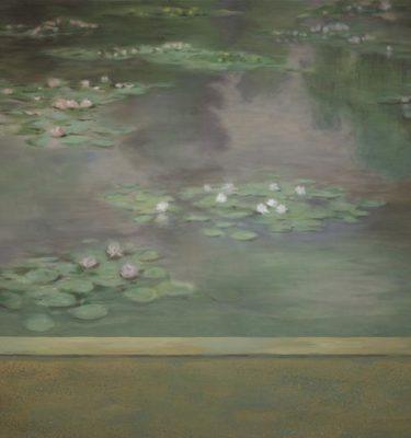 Backdrop 476 Monet Style Lily Pond 15'X18'