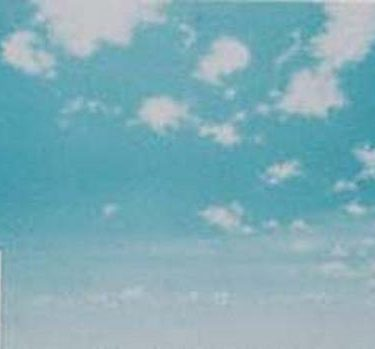 Backdrop 485 Bright Sunny Blue Sky With Clouds 12'X6'