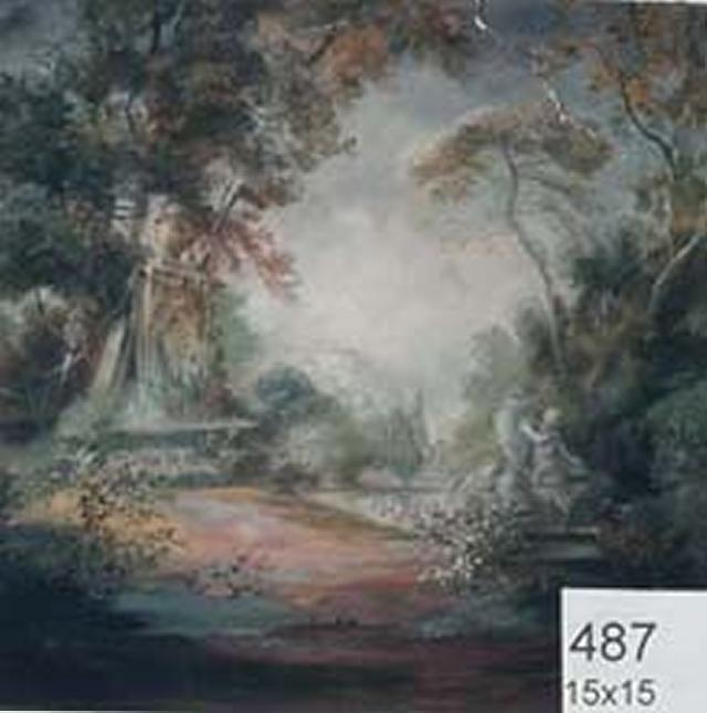 Backdrop 487 Gainsborough Style Landscape 15'X15'